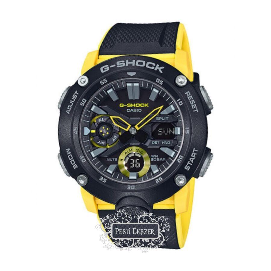 Casio G-Shock Carbon férfi óra GA-2000-1A9ER