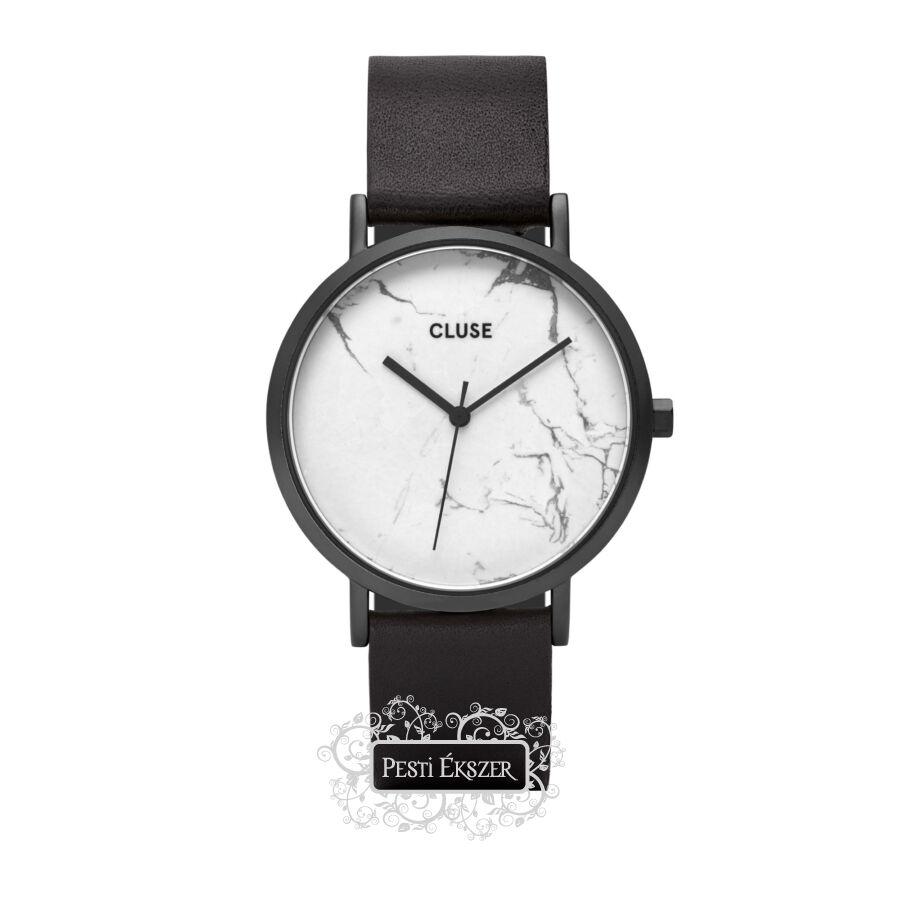 Cluse La Roche Full Black White Marble női óra CL40002