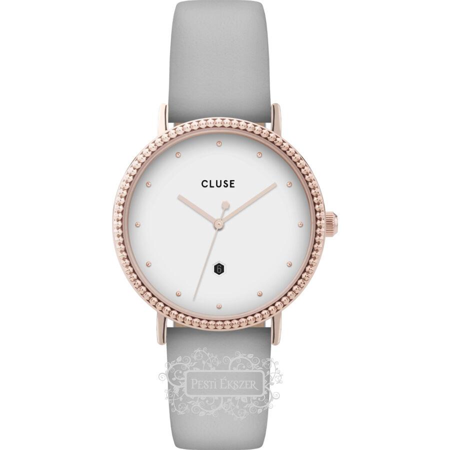 Cluse Le Couronnement Rose Gold White/Soft Grey női óra CL63001