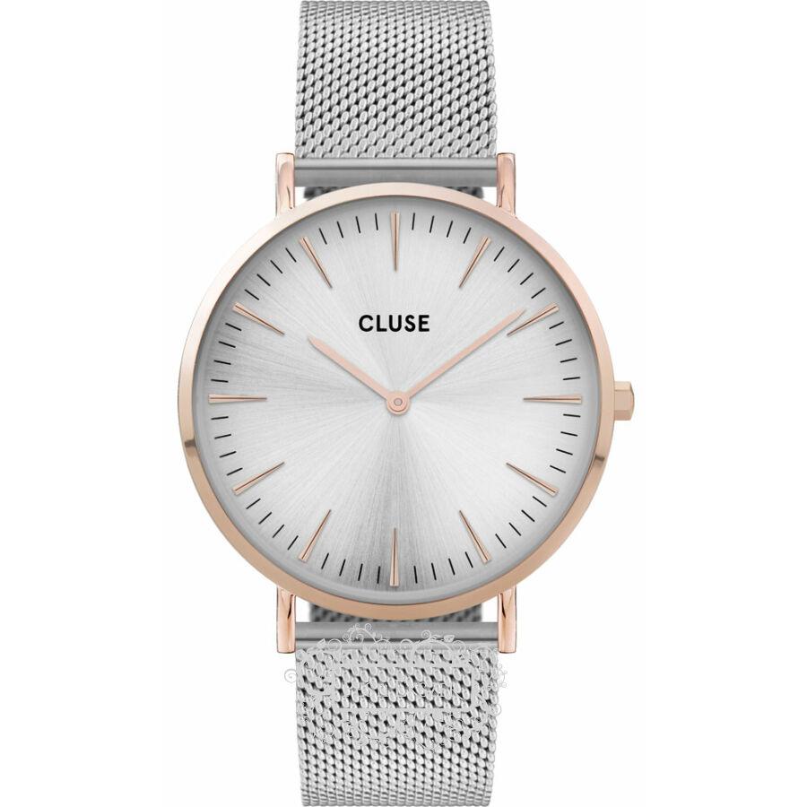 Cluse La Bohéme Mesh Silver női óra CW0101201006