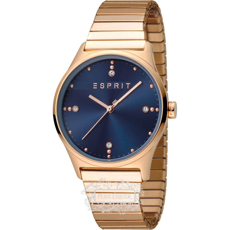 Esprit VinRose Blue Rosegold Polish női óra ES1L032E0085