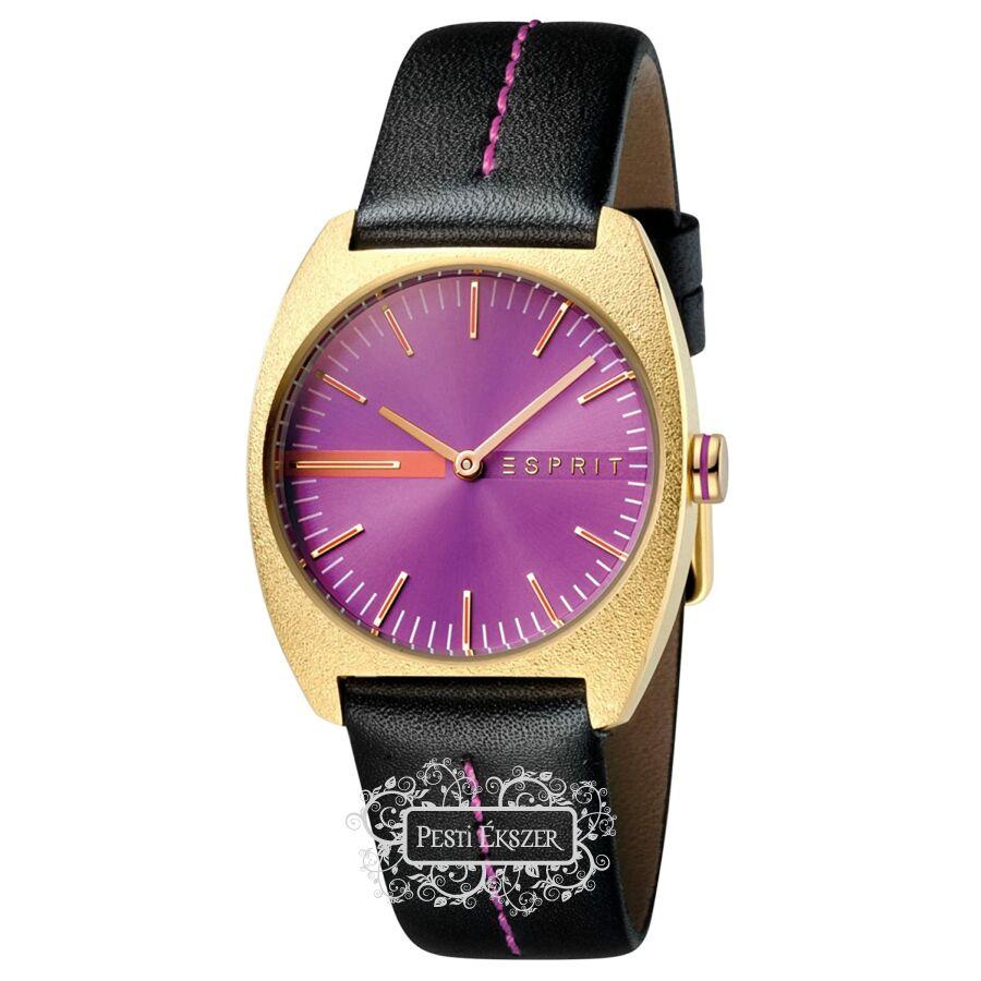 Esprit Spectrum Purple Black női óra ES1L035L0035