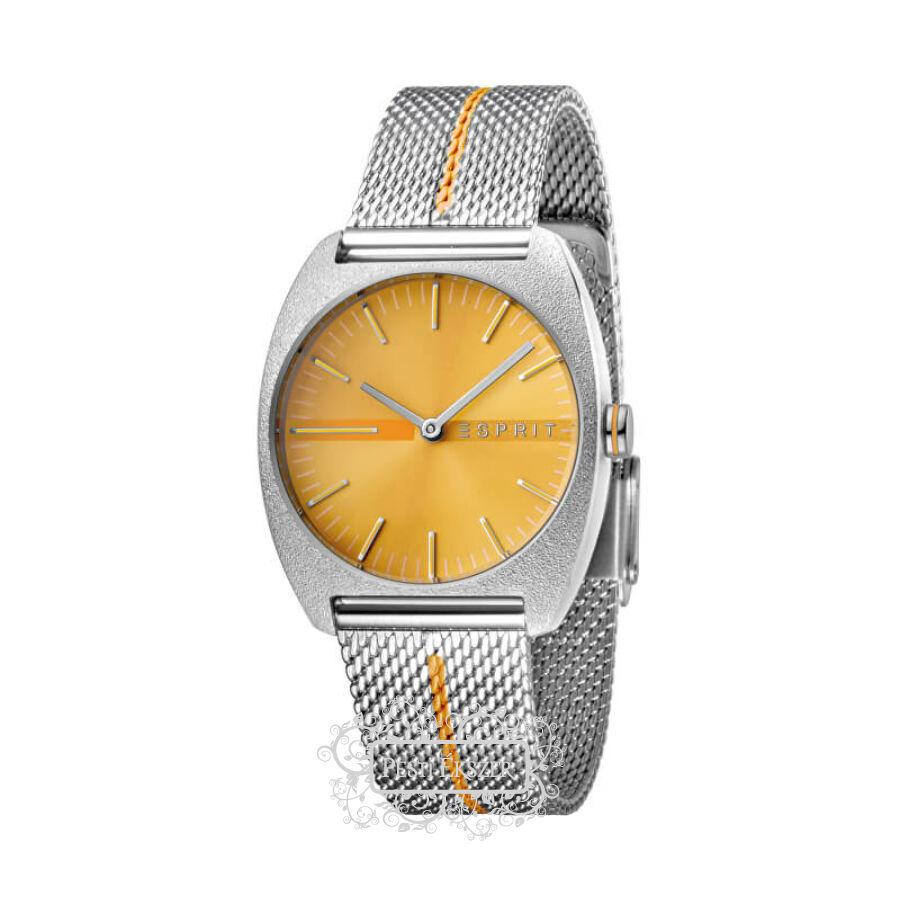 Esprit Spectrum Orange Stripe Mesh női óra ES1L035M0065