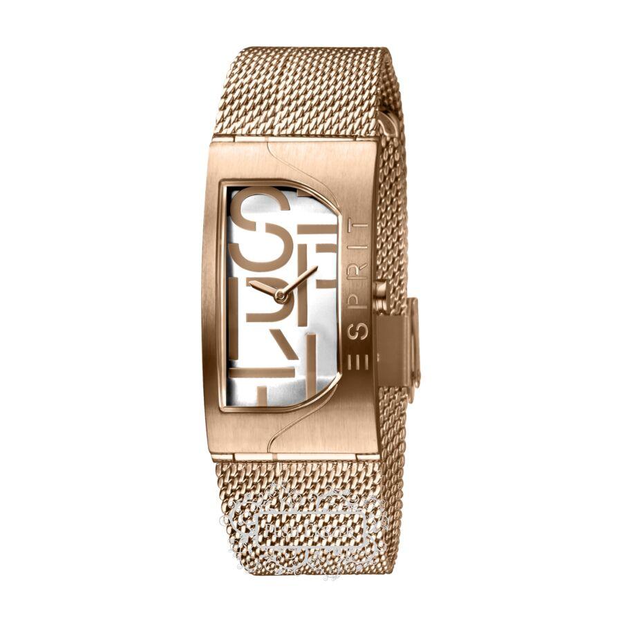 Esprit Houston Bold Silver Rosegold női óra ES1L046M0045
