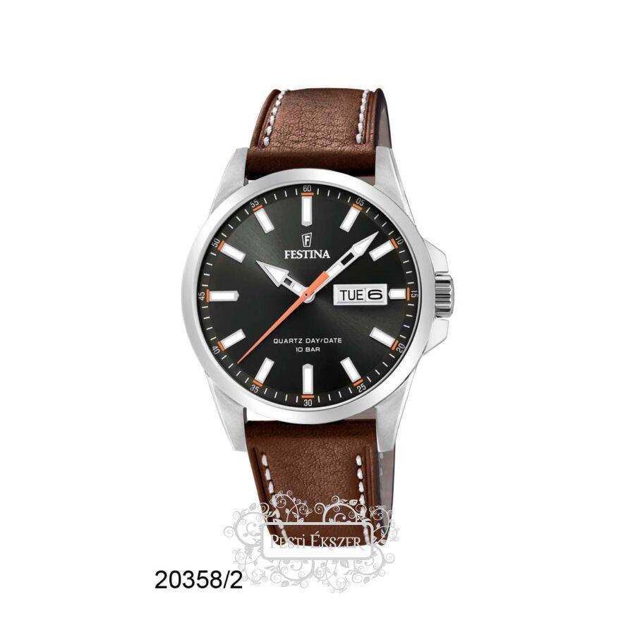Festina Classic - Steel férfi óra F20358/2