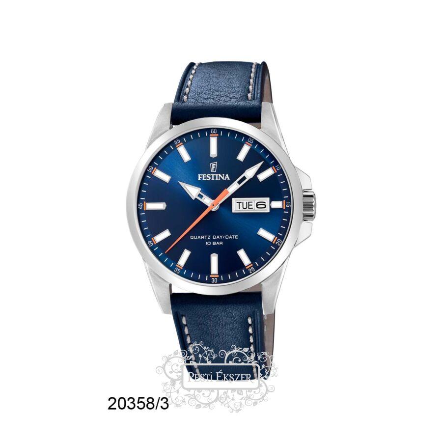 Festina Classic - Steel férfi óra F20358/3