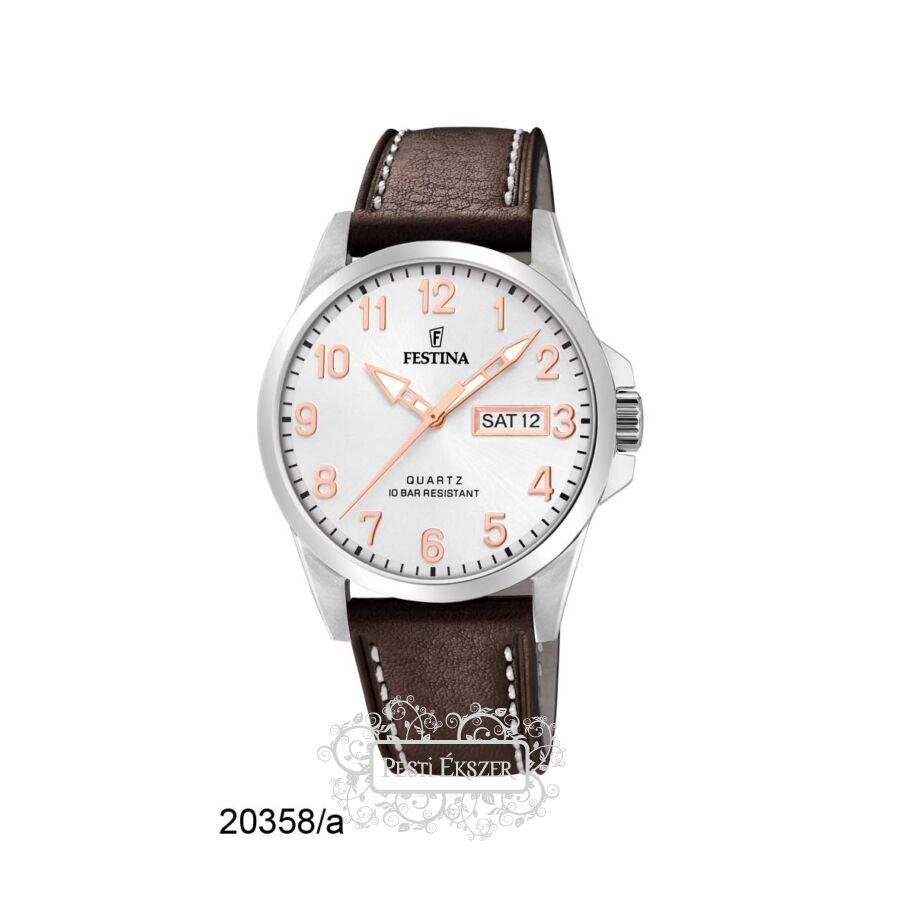 Festina Classic - Strap férfi óra F20358/A