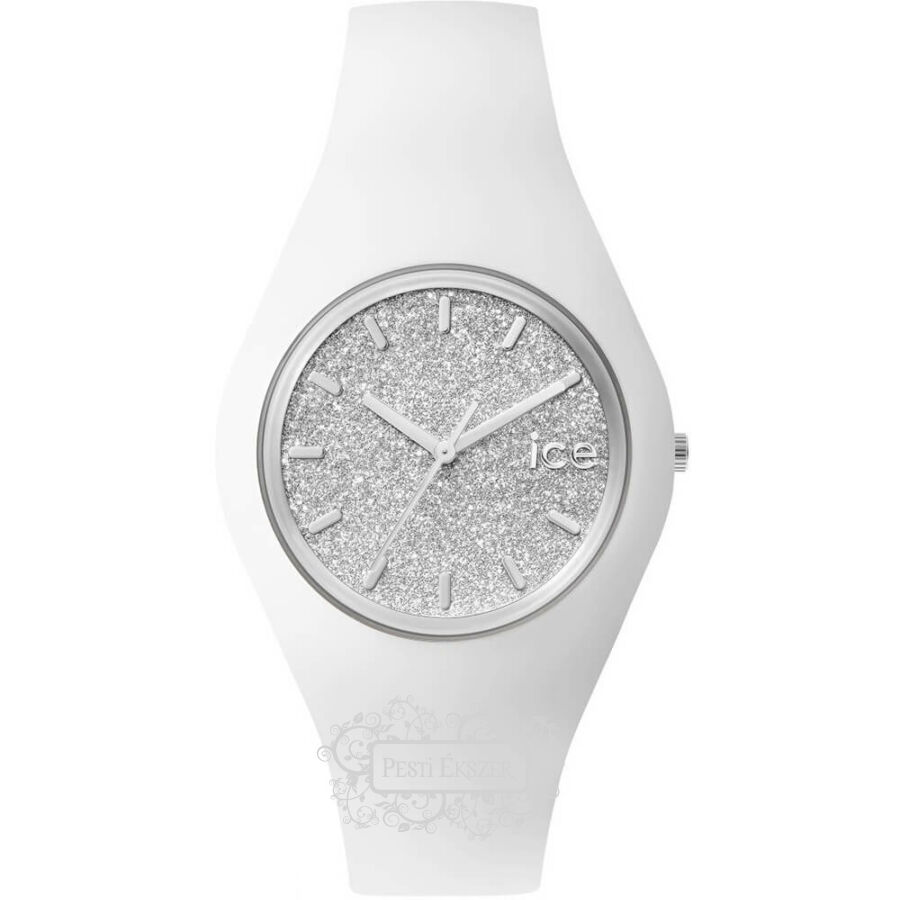 Ice-Watch ICE Glitter White Silver Small 001344