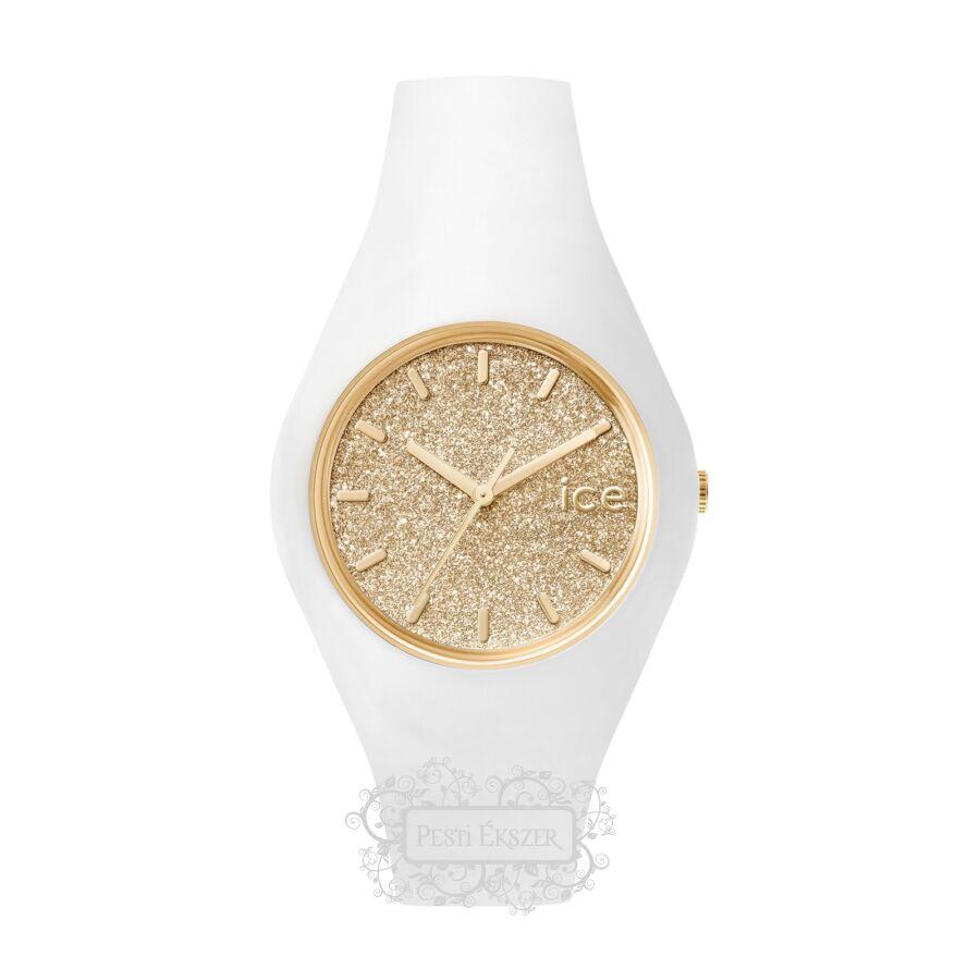 Ice-Watch Ice Glitter White Gold Medium 001352