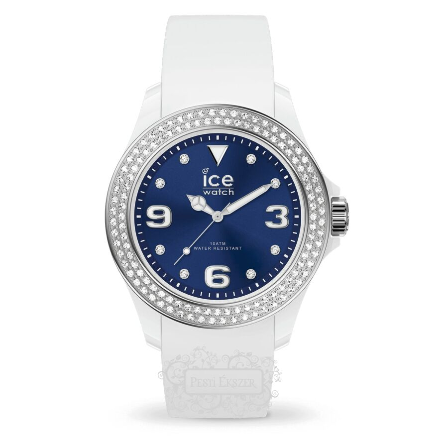Ice Watch Ice Star White Deep Blue Small női óra 017235