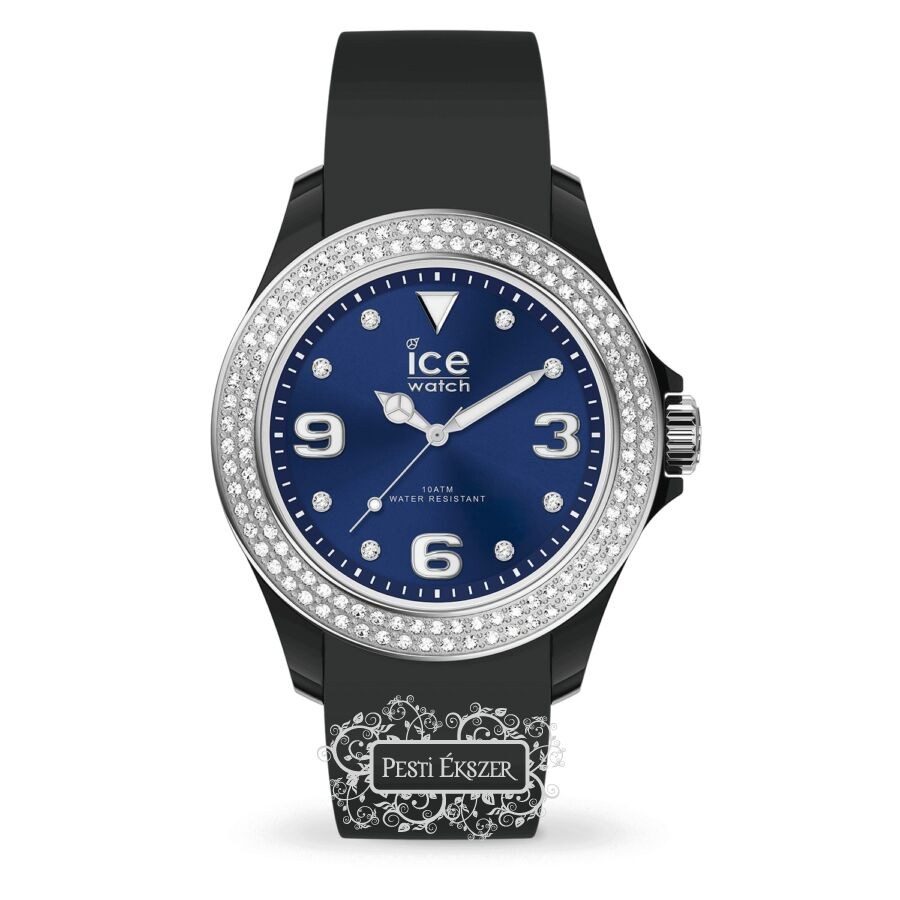 Ice Watch Ice Star Black Deep Blue Small női óra 017236