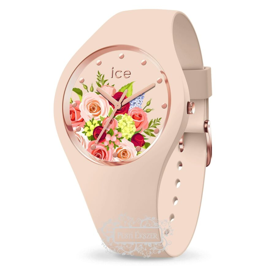 Ice-Watch Ice Flower Pink Bouquet Medium női óra 017583
