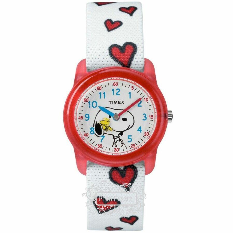 Timex Snoopy gyerek óra TW2R41600